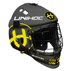 Masque Unihoc BLOCKER black