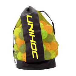Ballbag black/neon yellow